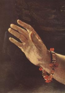 Rembrandt-Danae_detail-1636
